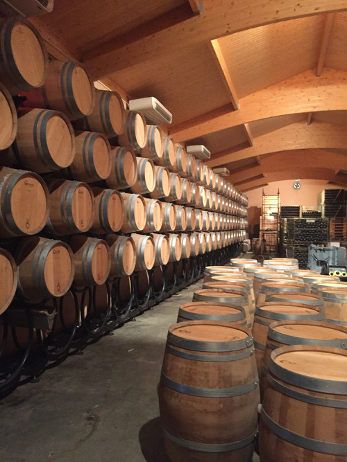 wine cellar Château Poupille